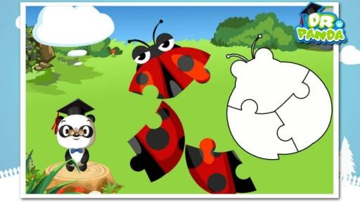 图形和可爱的小动物们的