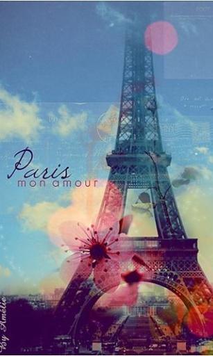 巴黎埃菲尔铁塔的高清图片