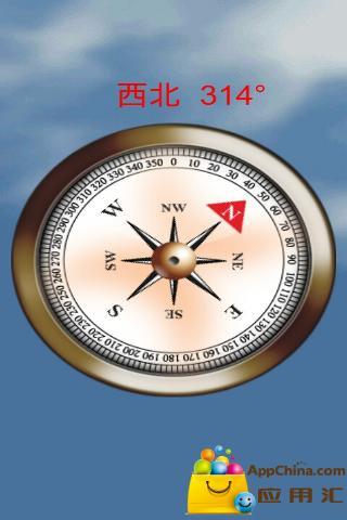 简易指南针高清图片