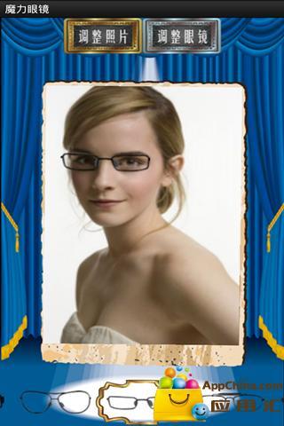 个人形象早知道 Android手机形象设计应用推荐—魔力眼镜